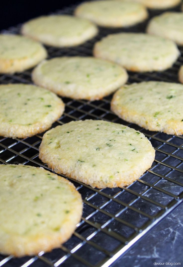 Mojito Sugar #Cookies recipe with lime/rum glaze | Sweet | Pinterest