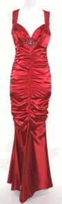 ... poly satin dress perfect for any formal event. size Small and Medium