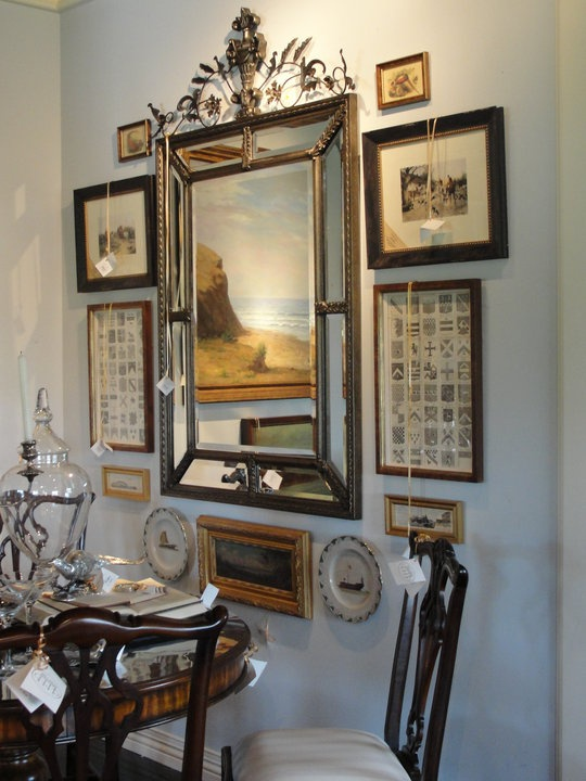 Mirror arrangement oh my yes decor8 gallery walls - Picture arrangements on wall ...