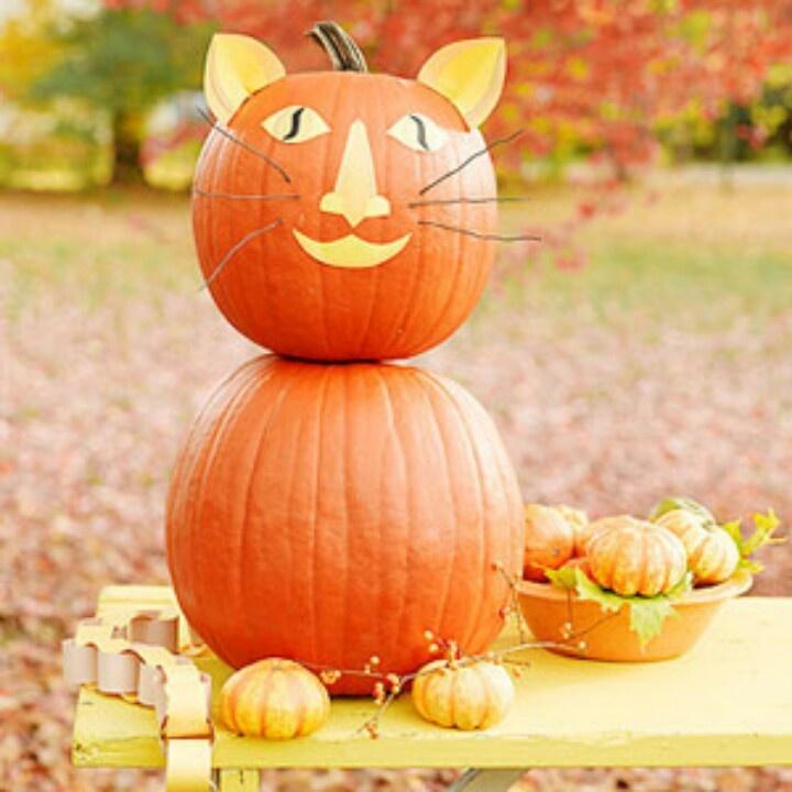 Cute Halloween Pumpkin Ideas Halloween Pinterest