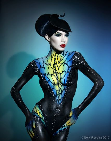 Body Painting by Nelly Recchia