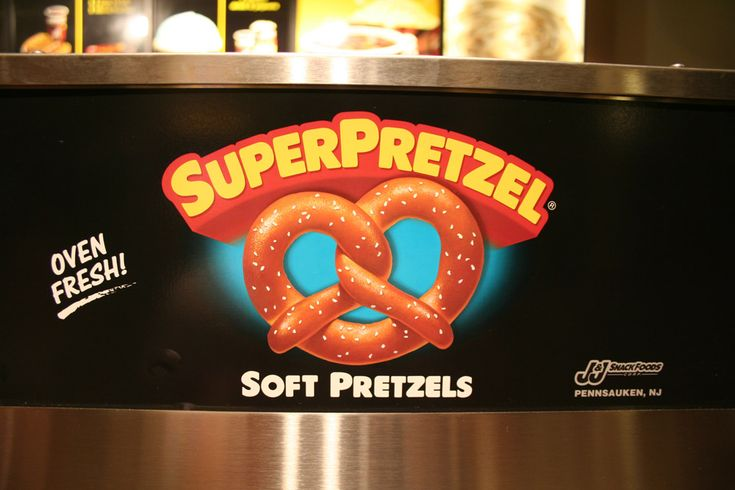 Boston Graphic Design, Super Pretzel, Soft Pretzels, Sign Theatre. (c ...