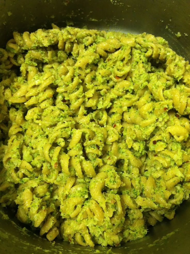 Broccoli Pesto Pasta | My blog recipes! | Pinterest