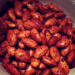 Bourbon Smoked Paprika Almonds | Smoked Paprika | Pinterest