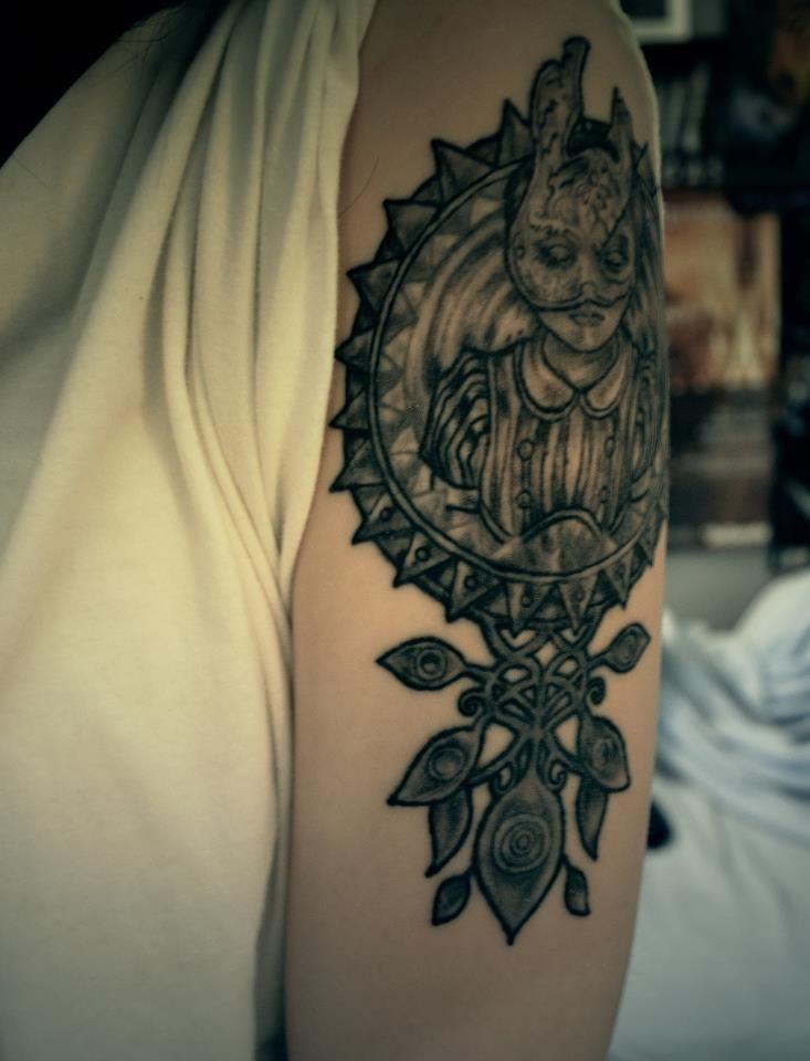 Custom Bioshock Tattoo  Inkspiration Pinterest