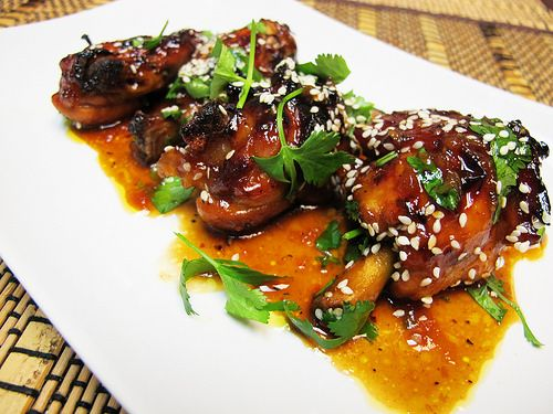 So Simple It's Silly: Hoisin Apricot Glazed Chicken Wings