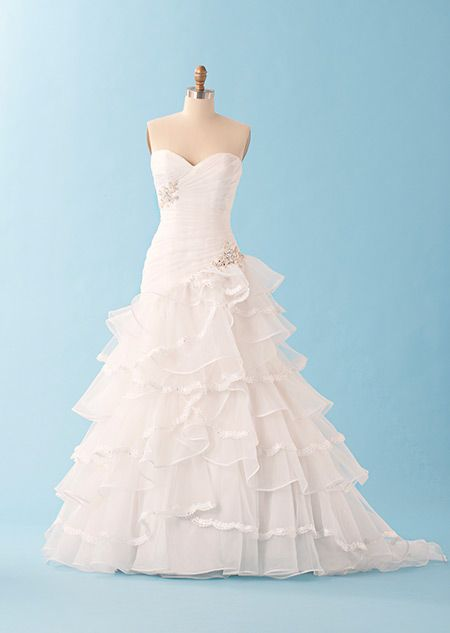 Tiana inspired wedding dress by disney something old for Wedding dress disney collection