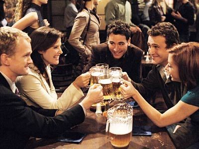 how i met your mother...i CANNOT believe it took me so long to realize i should have been watching this from day 1