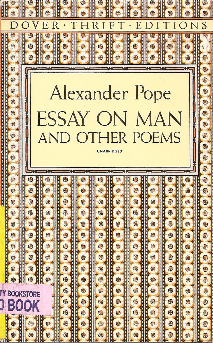 analysis of essay on man by pope