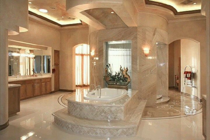 My dream master bath homespirations pinterest for Dreams about bathrooms
