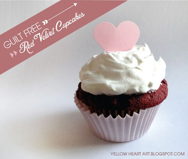 Easy Guilt Free Red Velvet Cupcakes! Only 2 ingredients by Yellow ...