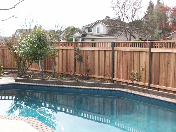 Pool fence pool fencing ideas pinterest for Pool fence designs