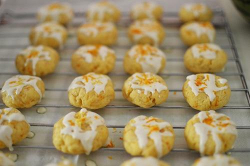 Citrus butter cookies | Yum | Pinterest