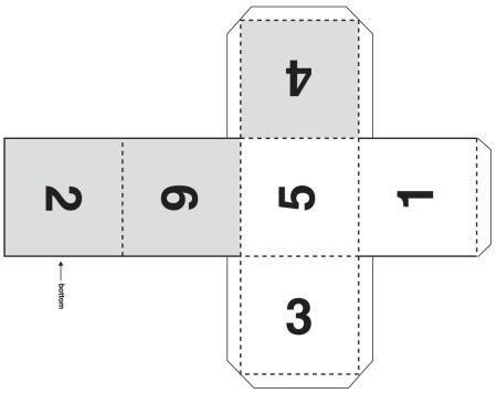 Как из а4 сделать куб