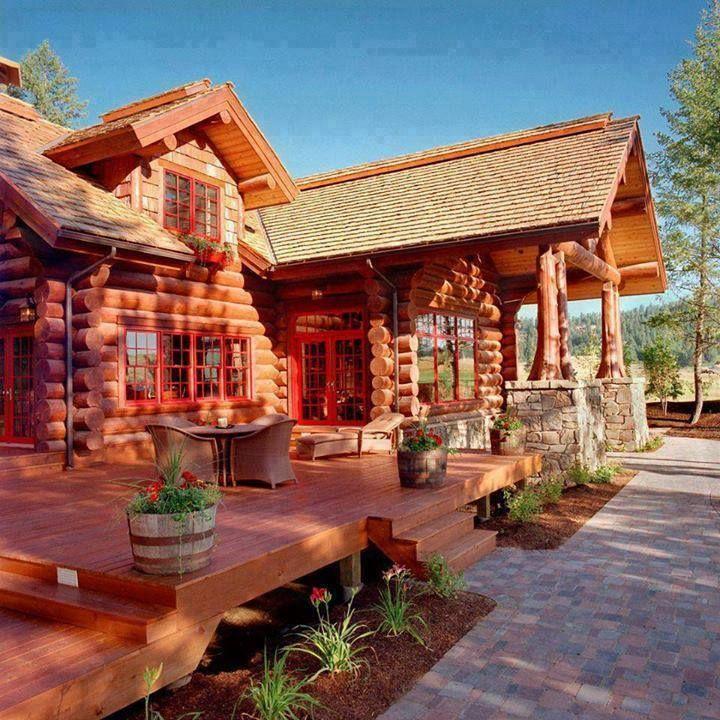 Beautiful Cabin Our Mountain Cabin Pinterest