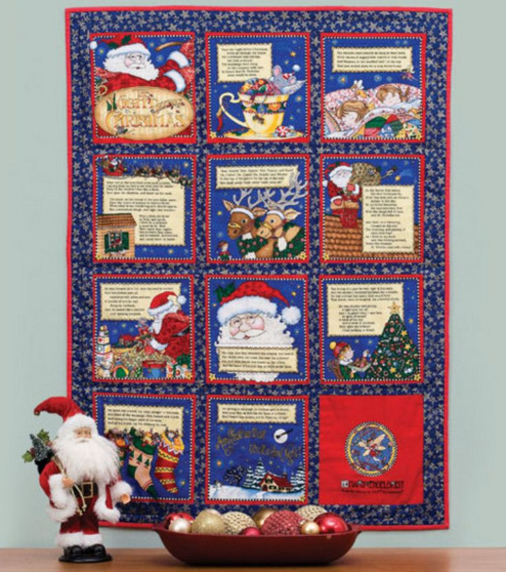 Night-Before-Christmas Quilt | Quilting | Pinterest
