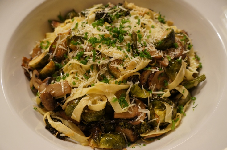 Truffle and Fall Vegetable Tagliatelle | Yummy in my Tummy | Pinterest
