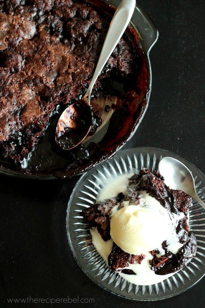 Fudge Sundae Cake -- just 10 minutes to put together, this fudgy cake ...