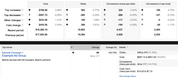 adwords conversion tracking android market