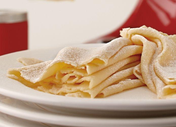 Gluten-free fresh pasta recipe for Kitchen Aid pasta roller ...