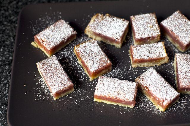 pink lemonade bars by smitten kitchen | Sweetie Pies | Pinterest