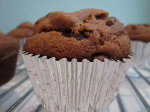 Gluten Free Pumpkin Chocolate Chip Muffin - healthy, easy and ...
