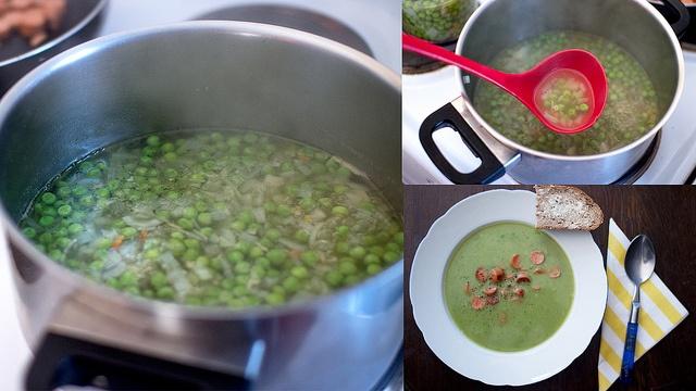 Spring Pea Soup Recipe http://www.paleorecipecbook.tumblr.com ...