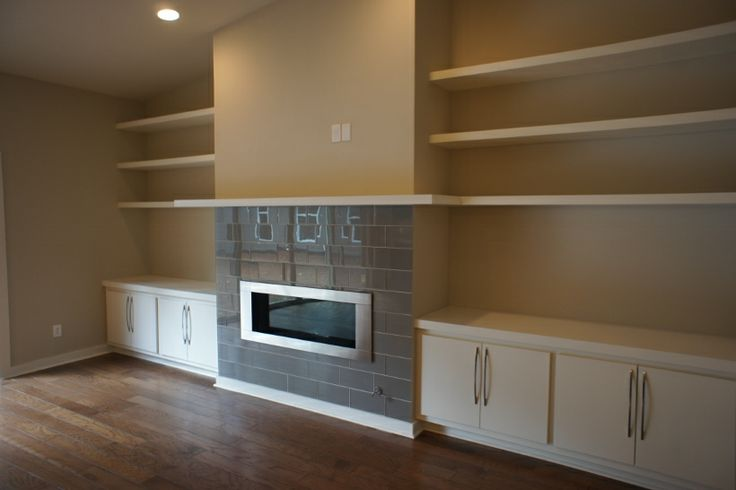 Modern Fireplace Built Ins Built Ins Shelves And Closets Pinte