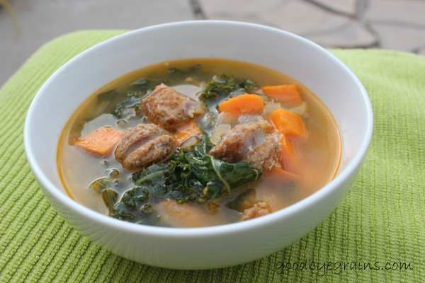 Portuguese Kale Soup - goodbyegrains | Recipes I want to try... | Pin ...