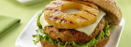 Teriyaki Pineapple Turkey Burgers | Recipes for all occasions! | Pint ...