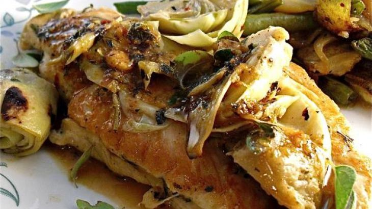 Star Anise And Ginger Braised Chicken Recipe — Dishmaps