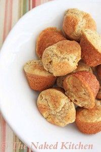 Vegan Lemon Thyme Muffins - a savory, gluten-free roll for dinner!