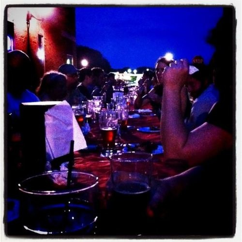 dinner at black dog smoke ale house in urbana il july 2011