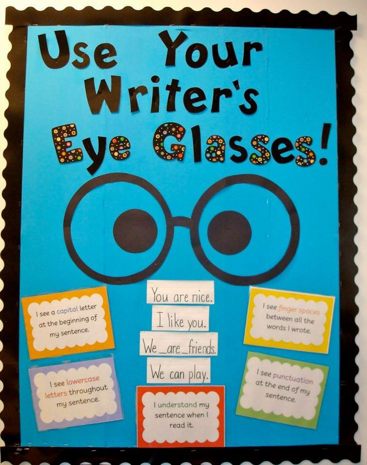 Classroom Writing Ideas : Writing bulletin board ideas decorating