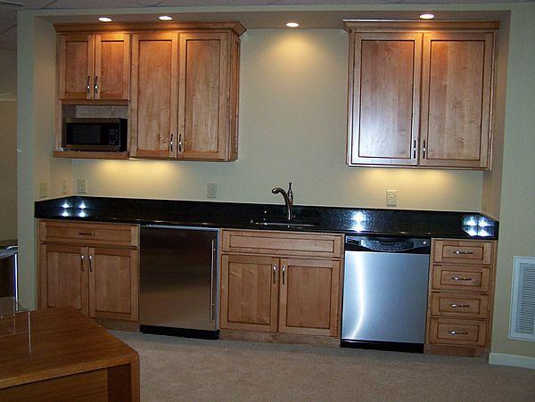 Basement Kitchen Idea For The Home Pinterest