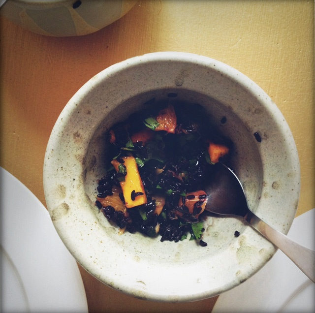 black rice salad with mango and peanuts via dull diamond ;) | feast ...