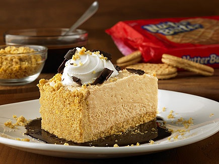 Nutter Butter Peanut Butter Pie - at Outback Steakhouse