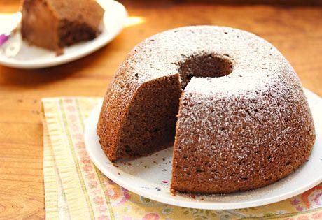 Mocha sour cream cake recipe {The Perfect Pantry}