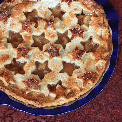 Old-Fashioned Apple Pie | stars | Pinterest