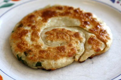Chinese Green Onion Pancakes - grew up eating this stuff and still ...