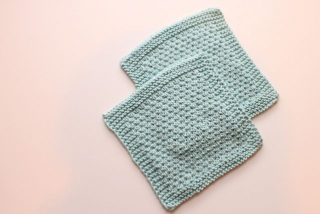 Knitted Wash Clothes Free Patterns :