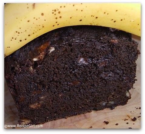 Chocolate Banana Bread from Rancho La Puerta Spa This has bananas in ...