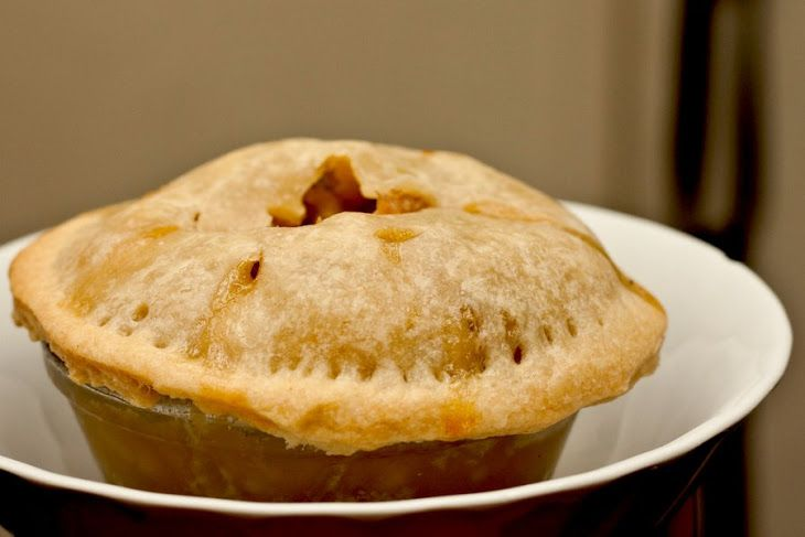 Vegetable Pot Pie with seitan | Fasting Friendly Food | Pinterest