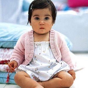 debbie bliss baby shrug free pattern | Knitting | Pinterest