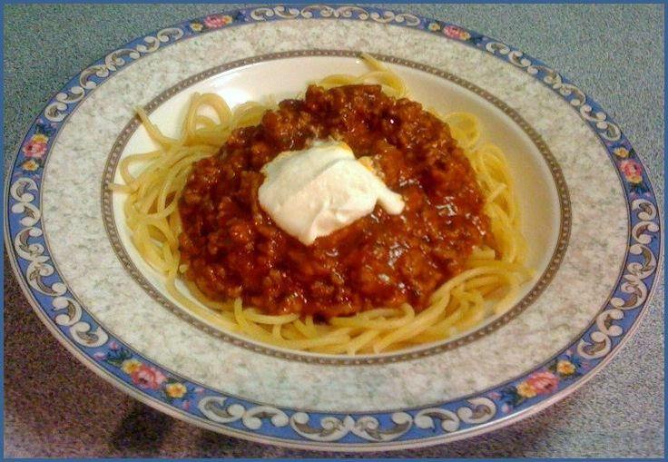 Easy Spaghetti Bolognese Recipe –
