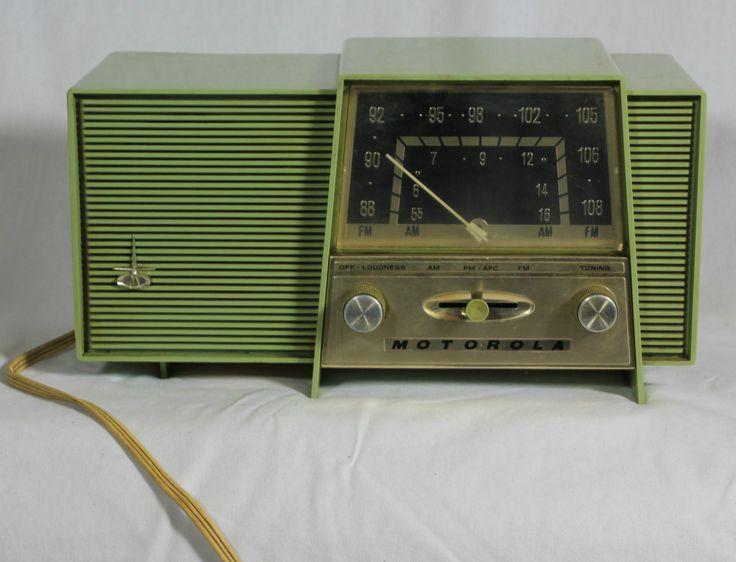 Motorola vintage am fm radio