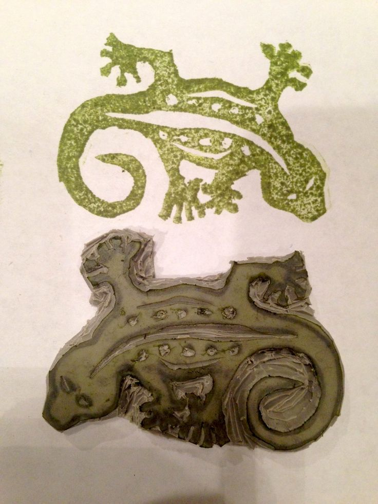 Stampin' Up!  Lizard stamp made with the Undefined stamping kit.  I found this on stampinup.com