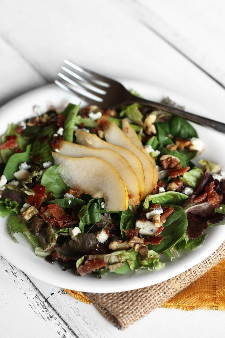 Autumn Salad With Pears And Gorgonzola Recipes — Dishmaps