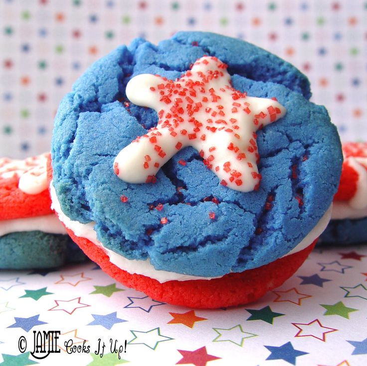 fourth of july cake mix