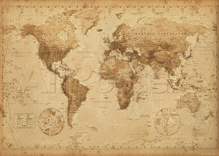 Carte du monde antique world world maps and antiques